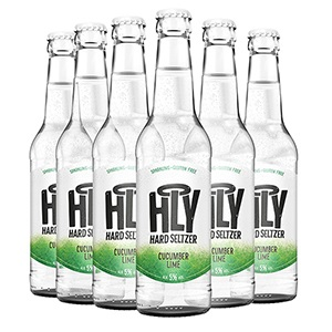 HLY Hard Seltzer Cucumber Lime 6 Pack