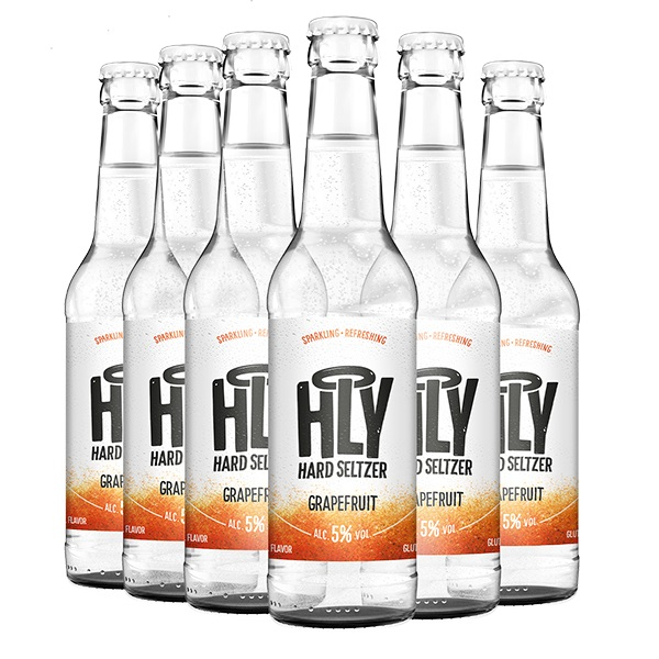 HLY Hard Seltzer Grapefruit 6 Pack