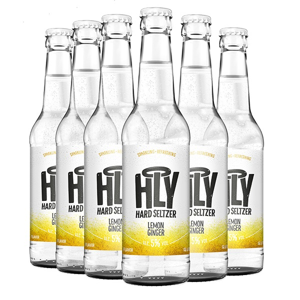 HLY Hard Seltzer Lemon 6 Pack